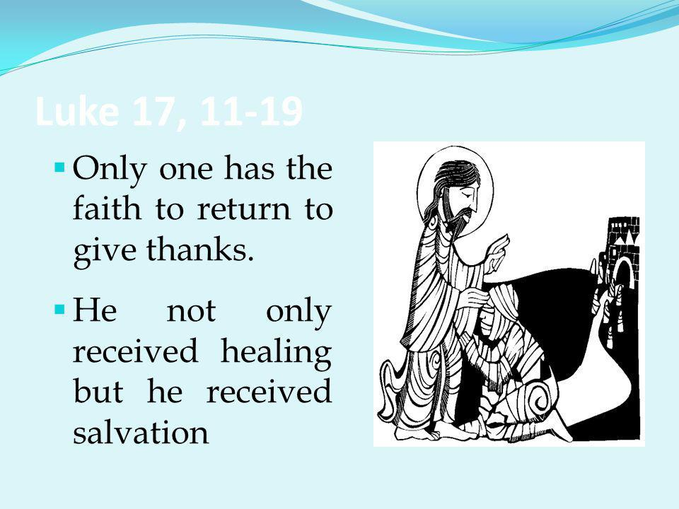 Attitude of Gratitude We need to: † Stop † Return † Thank the source of goodness Our Worship to God is Eucharist, i.e., thanksgiving.
