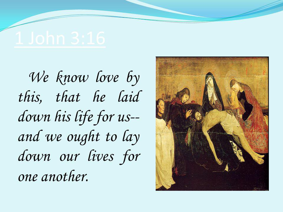 1 John 4:10 In this is love, not that we loved God but that he loved us and sent his Son to be the atoning sacrifice for our sins.