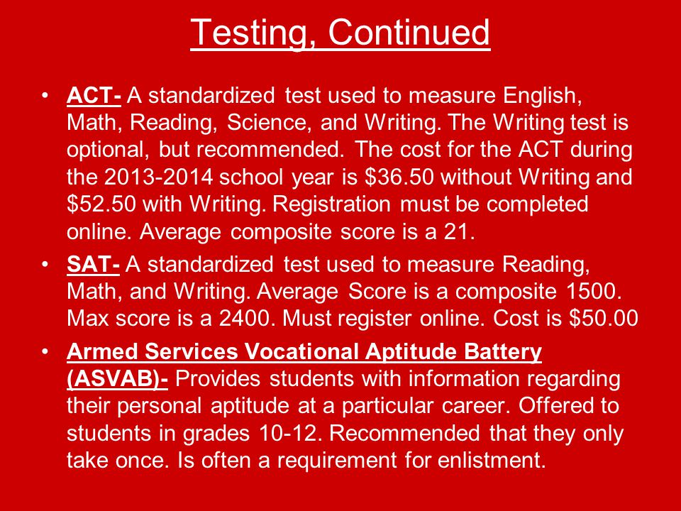 Apply for Admission and Observe Deadlines Narrow your choices Have you met admissions test requirements.