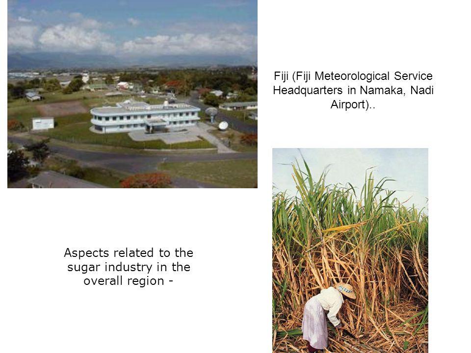 Fiji (Fiji Meteorological Service Headquarters in Namaka, Nadi Airport)..