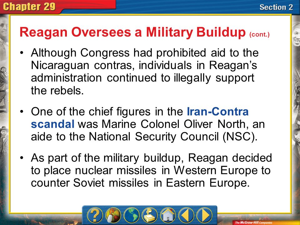 Section 2 Despite his decision to deploy missiles in Europe, Reagan generally disagreed with the military strategy known as nuclear deterrence, sometimes called mutual assured destruction.mutual assured destruction.