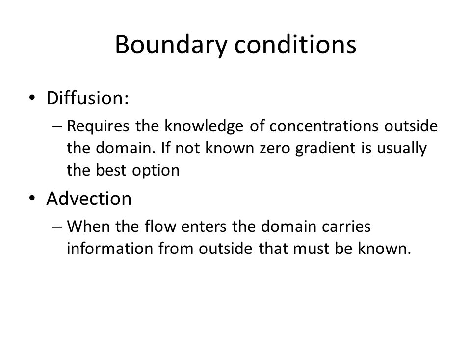 How to know the external boundary condition.