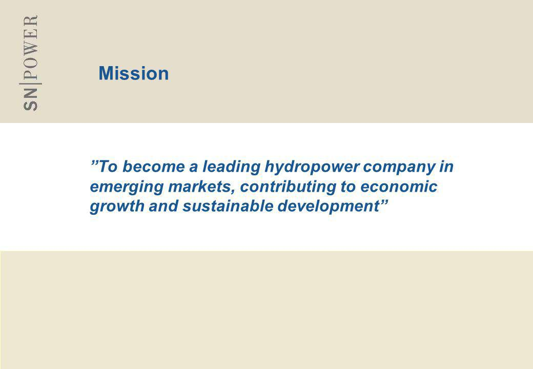 44 Business objectives and strategy  Established in June 2002 - Jointly owned by Statkraft (50%) and Norfund (50%)  Business objective: To invest in clean, renewable energy projects on commercial basis in selected emerging markets  Long-term investment strategy  Capitalizes on its owners' technical and financial strength and international hydropower experience  Transfer of Norwegian hydropower expertise