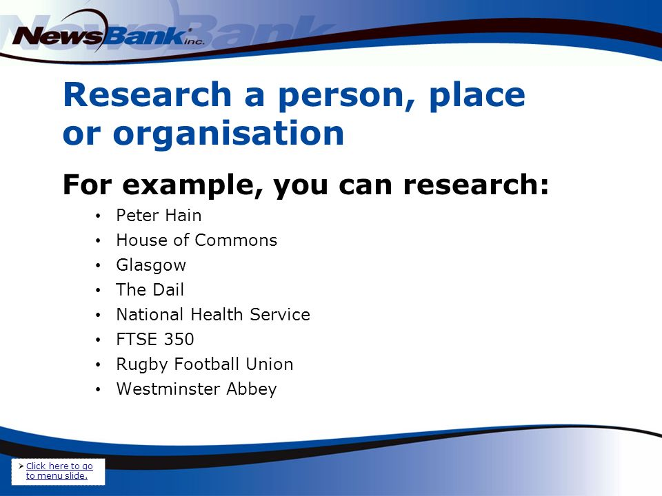 1.To perform a basic search, simply type in your search terms.