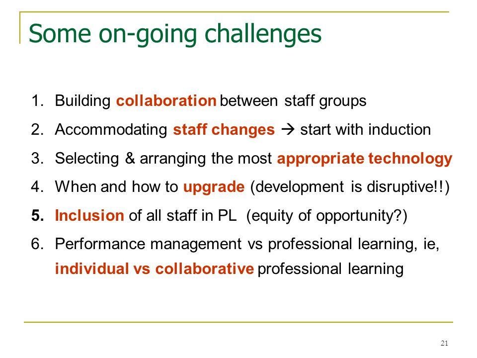 22 Build communities of practice !.