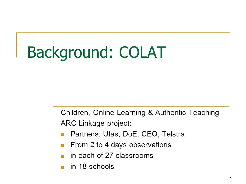 6 ICT - three levels of consideration ICT is a whole school responsibility!.