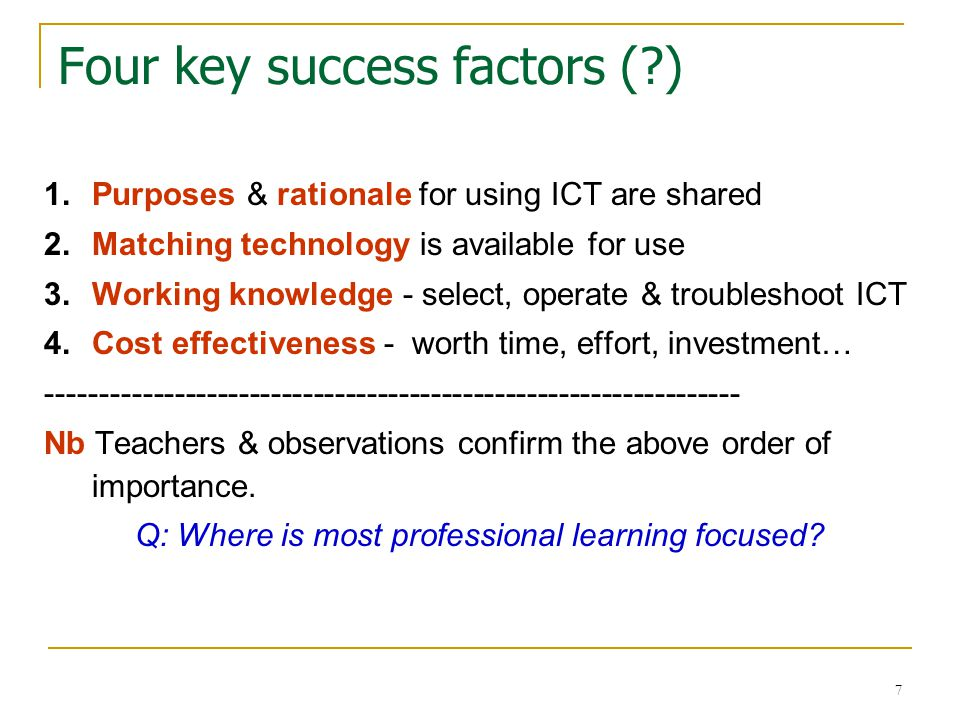 8 Other COLAT findings It is about practices !.