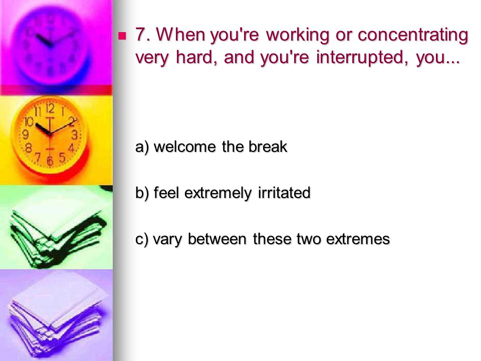8.Which of the following colors do you like most.
