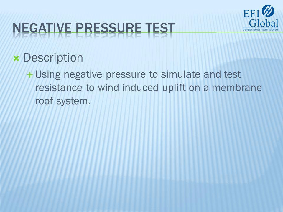  Test Summary  Test pressures are obtained from the structural engineer and/or governing agency.