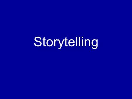 Storytelling. Common issue: Many new screen writer's have issues taking a situation and creating a story from it.