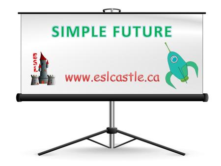 What is the simple future? The simple future indicates future actions and states. How do we form the simple future? To form the simple future, we place.