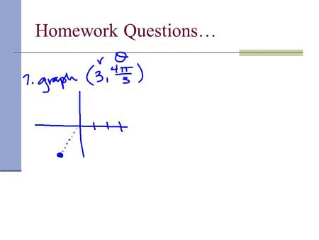 Homework Questions…. Pre-Calculus Section 6.5 (Everyone take a DEEP breath and TRUST ME!! )