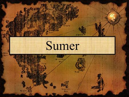Sumer. Sumer Develops The challenge of controlling the two rivers forced cooperation, thus Sumer arose Developed in the region where the two rivers meet.