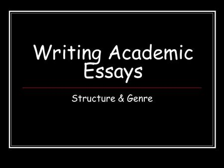 Is an essay usually divided into paragraphs?