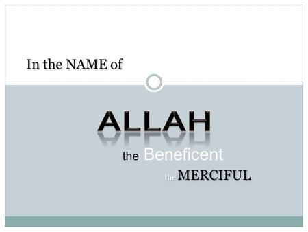 "The Beneficent the MERCIFUL In the NAME of. ""ASSURING RELIABLE AND SECURE IT SERVICES"""