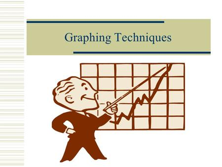 Graphing Techniques What's a graph?  Why do we need to make graphs?