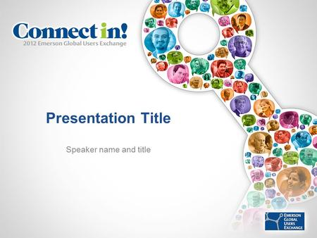 Presentation Title Speaker name and title. Photography & Video Recording Policy Photography and audio/video recording is not permitted in any sessions.
