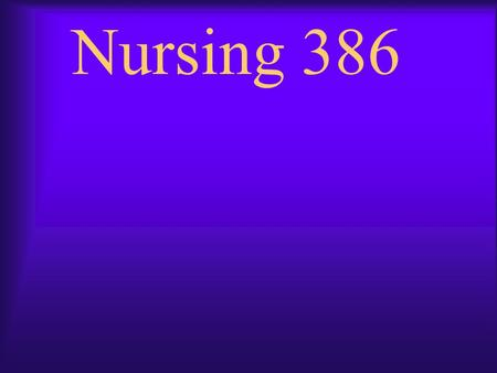 Nursing 386. Your Assignment:  Summarize two research articles that address the clinical issue. Acquire these articles by searching various databases.