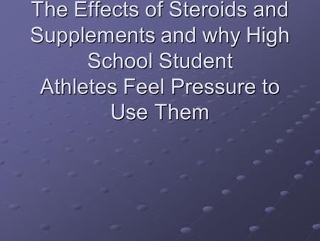 the negative effects of pressure on student athletes 3 responses to athletes performing under pressure from my experience in working with some of the world's top athletes, unless these negative emotional.