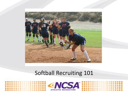 Softball Recruiting 101. Brittany Pascale– Head Softball Recruiting Coach University of Nebraska 4 year letter winner 2 year team captain High School.