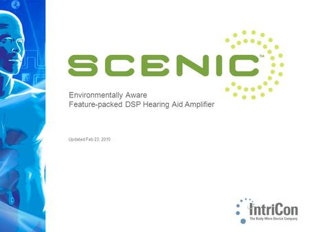 Environmentally Aware Feature-packed DSP Hearing Aid Amplifier Updated Feb 23, 2010.