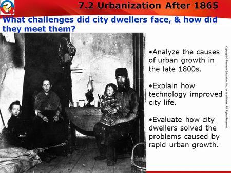 Urbanization 1800s Objectives Expl...