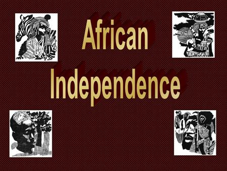 By 1900 only 2 African Nations remained independent... Ethiopia Liberia.