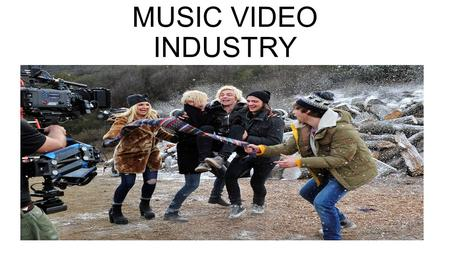 RESEARCH INTO THE MUSIC VIDEO INDUSTRY. MUSIC VIDEO INDUSTRY PORPOSE: A music video or song video is a short film integrating a song and imagery, produced.