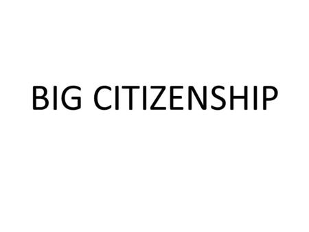 BIG CITIZENSHIP. Who is Rachel Faulkner? City Year's Mission: City Year's mission is to build democracy through citizen service, civic leadership and.