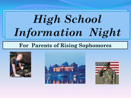  Plan for sophomore year and beyond  Know what Counselors do  Gain an understanding of High School records  Learn about being a Warrior  See Dates.
