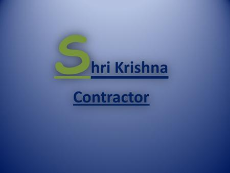 S hri Krishna Contractor ABOUT US S hri Krishna Contractor is offering highly admirable and affordable Water Proofing and Water Leakage Solutions which.