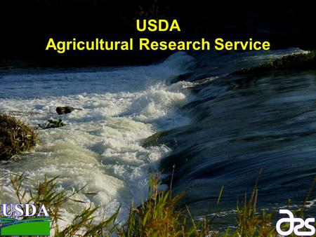 USDA Agricultural Research Service. 16% of the $9 trillion gross domestic product. 8% of U.S. exports. 17% of employment. < 2% U.S. workforce on farms.