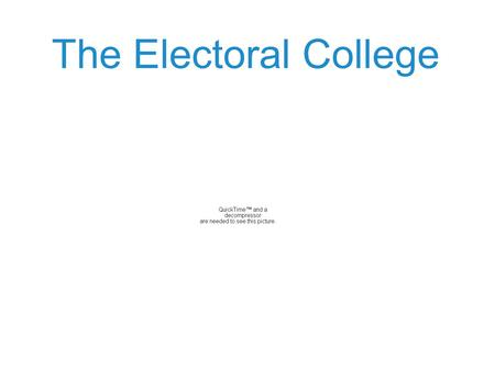 "The Electoral College. 538 How many electoral votes must a candidate get to become president (the ""magic number"")? 270 ( 1 more than half the total… 538/2."