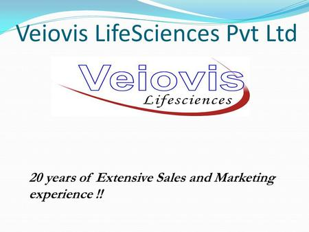 Veiovis LifeSciences Pvt Ltd