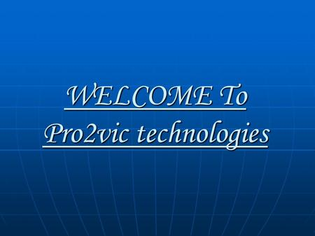 WELCOME To Pro2vic technologies. INSTRUCTIONS HOW TO POST FREE ADS ON INTERNET.