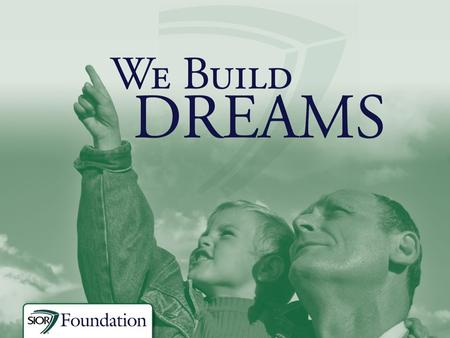 Who We Are  The Society of Industrial and Office Realtors® Foundation was created to support initiatives for advancing commercial real estate as a professional.