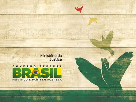 Institutional framework Brazilian Policy to Combat Trafficking in Persons.