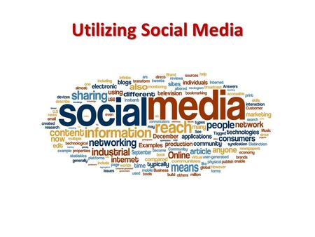 Utilizing Social Media. Use social media to build your brand Personal branding is the process by which individuals differentiate themselves and stand.
