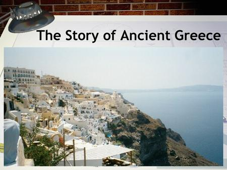 The Story of Ancient Greece. Geography of Greece Greece is a small country in Europe. Greece is near the Mediterranean Sea. The main part of Greece in.