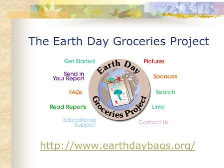 The Earth Day Groceries Project