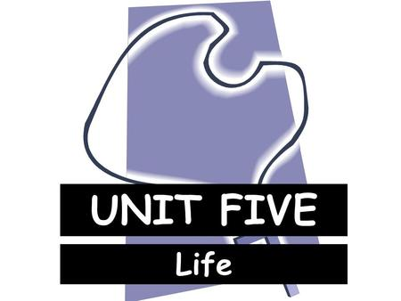 UNIT FIVE Life. I. Meaning of Life What is it? 1. The meaning of life is to know, love, and serve God. What will make us happy here and in heaven I.