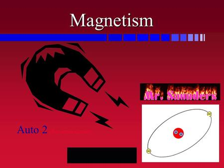 Magnetism Auto 2 after series circuits Magnets & Magnetic Fields.