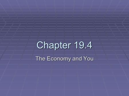 Chapter 19.4 The Economy and You. Consumer Rights and Responsibilities  Consumers have rights and responsibilities in our free enterprise system.  Consumerism.