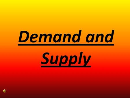 Demand and Supply.  If Demand increases and supply remains unchanged, a shortage occurs, leading to a higher price.  If Demand decreases and supply.