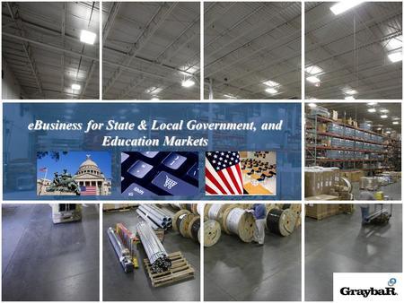 1 eBusiness for State & Local Government, and Education Markets.