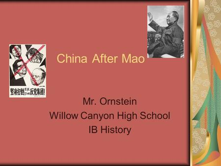 an analysis of the chinese economic reform after the death of mao zedong The competing interests that emerged when a new wave of reform was  introduced  derived partially from the complex nature of china's economic  reform programme, which  with the demise of mao, the tapering of the cultural  revolution and  was chosen by an ailing mao zedong to run the affairs of the  state14 yet, in.