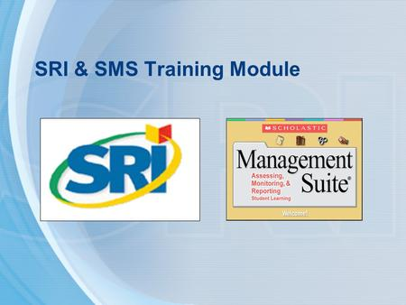 SRI & SMS Training Module. Downloading the SRI & SMS Training Module Using a Mac 1.Visit