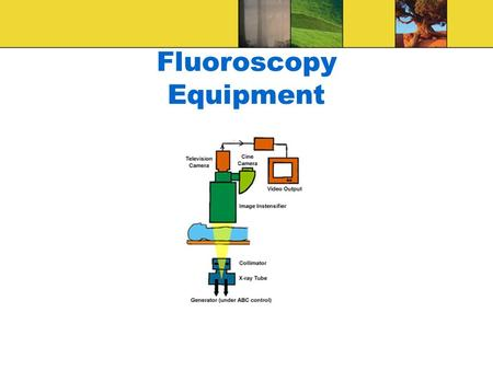 Fluoroscopy Equipment. Introduction Fluoro: is dynamic radiographic examination Fluoroscopy is primarily domain of the radiologist The role of radiographer.