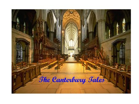 The Canterbury Tales. Who was the author? What is the book about? What are some significant historical issues? What are important stylistic elements?