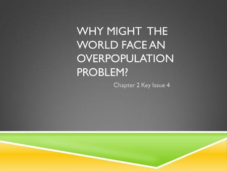 an essay on population problem Problem-solution essays consider the problems of a particular situation  the number of obese people can amount to one third of the population.